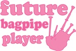 Future Bagpipe Player Kids Tshirts