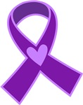 Alzheimer's Purple Ribbon Gifts and Tshirts