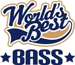 WORLD'S BEST BASS T-SHIRTS AND MUSIC GIFTS