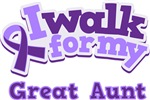 WALK FOR GREAT AUNT ALZHEIMER'S T-SHIRTS