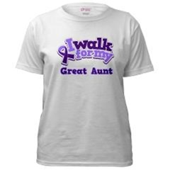 ALZHEIMERS AWARENESS WALK TSHIRTS AND WATER BOTTLE