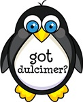 Dulcimer Music Penguin T-shirts and Gifts