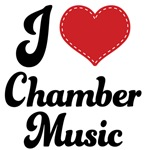 I Love Chamber Music Tshirts and Gifts