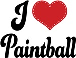 I Heart Paintball T-shirts and Gifts