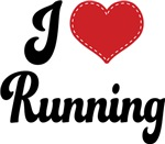 I Heart Running T-shirts and Gifts