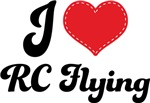 I Heart RC Flying T-shirts and Gifts