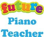 Future Piano Teacher Kids Music T-shirts