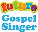 Future Gospel Singer Kids Music T-shirts