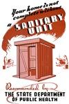 Sanitation Unit WPA Poster