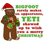Funny Christmas Bigfoot