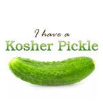 I have a Kosher Pickle
