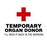 Temporary Organ Donor