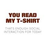 Enough Social for Today