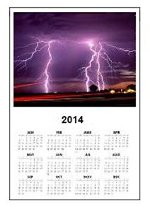 Storm Chaser Calendars