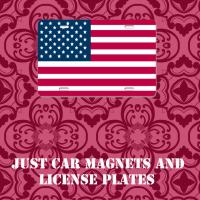 JUST CAR MAGNETS AND LICENSE PLATES