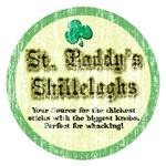St. Paddy's Shillelaghs (Distressed)