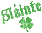Slainte with Four Leaf Clover