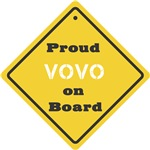 Proud Vovo on Board