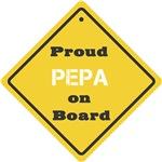 Proud Pepa on Board