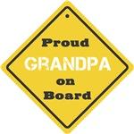 Proud Grandpa on Board