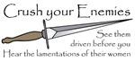 Crush Your Enemies