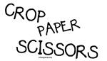 Crop Paper Scissors