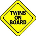 Twins on Board Maternity Wear.