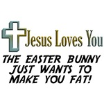 Jesus Loves You T-Shirts & Gifts!