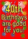 40th Birthday Cards & Invitations.