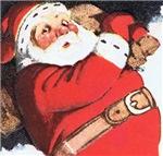 Funny Santa t-shirts, children's apparel, gifts.
