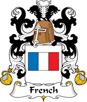 French Last Name Coats of Arms