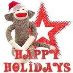 Christmas Monkey Love