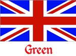 Green British Flag