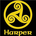 Harper Celtic Knot (Gold)