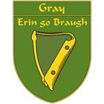 Gray 1798 Harp Shield