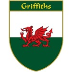 Griffiths Welsh Flag Shield