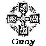 Gray Celtic Cross