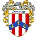Carpenter Coat of Arms (Mantled)