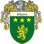 Moore Coat of Arms (Mantled)