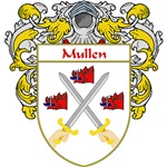 Mullen Coat of Arms (Mantled)