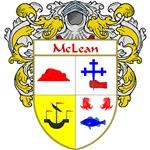 McLean Coat of Arms (Mantled)