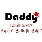 Dad Christmas Sled