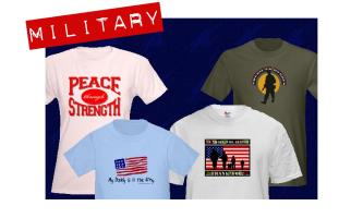 MILITARY/ SUPPORT OUR TROOPS GEAR