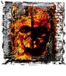 Dark Burning Skull