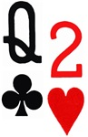 IRON_MOJO Queen of Clubs Deuce of Hearts