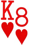 King of Hearts 8 of Hearts