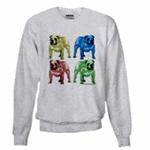 Color Tone Bulldog Sweatshirts