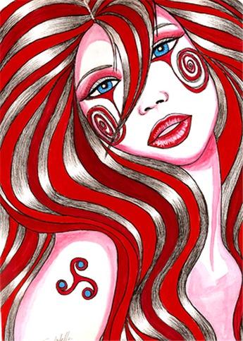Cherry Swirl Girl