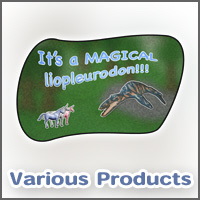 It's a magical liopleurodon!!