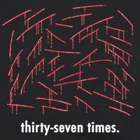 Thirty-seven times.